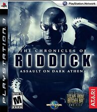 The Chronicles Of Riddick Assault On Dark Athena Ps3