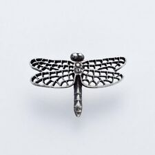 Japanese Traditional Handicraft by Ken Izumi (Pin-brooch) (Tiny Dragonfly) (T-1)