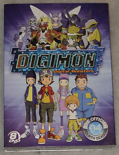 Digimon Frontier: The Complete Fourth Season 4 Four - 8 DVD Box Set NEW & SEALED