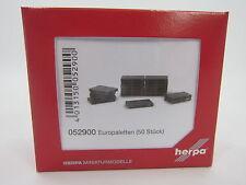 Herpa 052900 Europaletten 50 Stück 1:87 H0 NEU OVP