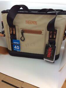 Thermos Trailsman 12 Can Tote, Cream/Tan