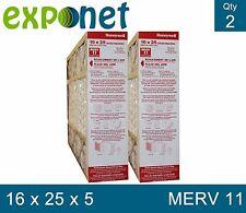 HONEYWELL FC100A1029 16X25X5 MERV11 FILTER ACTUAL SIZE 15 7/8 x 24 3/4 x 4 3/8