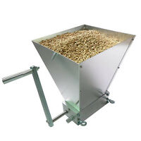 High Quality Grain Processor Stainless Rollers Homebrew Grain Mill Grain Crusher