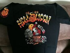 Hells Angels Merced Co. 81 supporter t-shirt SMALL 2002 Helloween Party