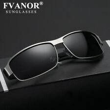 Mens Aluminum HD Polarized Sunglasses Driving Pilot Glasses UV400 Sports Eyewear