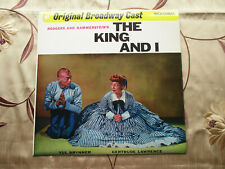 THE KING AND I ORIGINAL BROADWAY CAST RECORDING WITH YUL BRYNNER MCA VINLY LP