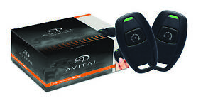 Avital 4115L Avistart Remote Start with two 1-button Controls with Unlocking