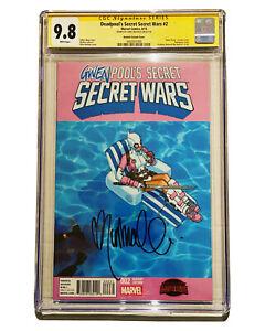 Deadpool's Secret Secret Wars 2 CGC 9.8 SS Chris Bachalo Gwenpool Variant Cover