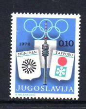 YUGOSLAVIA MNH 1972 SG1525 OBLIGATORY TAX. OLYMPIC GAMES FUND