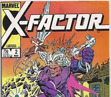 X-FACTOR #2 with Original X-Men 1st Tower from Mar 1986 in Fine+ con. DM