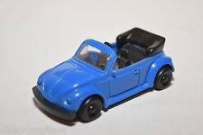 PLASTIC VW VOLKSWAGEN BEETLE KAFER CABRIOLET BLUE NEAR MINT CONDITION