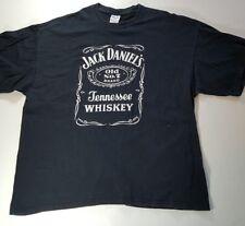 Jack Daniels Old No 7 Tennessee Whiskey Tee Shirt black 2XL