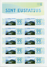 Dutch Caribbean St Eustatius 2014 MNH Personal Stamps 10v S/A M/S Mountains