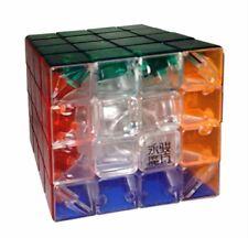 Rubik's YJ Yusu R Cube Stickerless Cube 4x4x4 Transparent