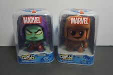 Marvel Mighty Muggs Guardians Of The Galaxy Gamora And Groot Bundle Of 2