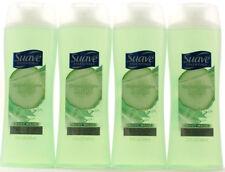 4 Suave Essentials Cucumber Agave Smash Body Wash Appealing Fragrance 12 oz.