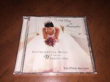 A DAY TO REMEMBER CD Instrumental Music For Your Wedding Day - O'Neill Brothers