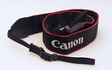 GENUINE CANON EOS DIGITAL CAMERA STRAP...CANON IS EMBROIDERED - NEW WITHOUT TAGS