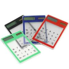 3X(Touch and Transparent Solar Calculator Y2J6)