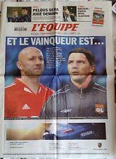L'Equipe Journal 8/11/2005; Barthez ou Coupet ?/ Jugement Pelous/ Pierce-Clijste