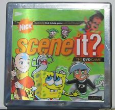Nick Scene It DVD Game 2007 Optreve Screen Life Nickledeon Tin Edition Complete