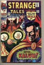 Strange Tales #148-1966 gd/vg Ancient One Nick Fury Doctor Strange Jack Kirby