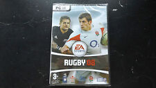 EA SPORTS RUGBY 08 PC DVD-ROM NEW SEALED ( realistic rugby simulation game )