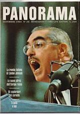 PANORAMA 26 / 1964 olimpiadi greche kashmir il cervello porsche kennedy arte pop