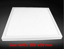 48W Surface Mount 600x600 mm LED Panel Ceiling Light & Frame Driver Cool White