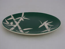 "WEIL WARE CALIFORNIA POTTERY BAMBOO PATTERN BREAD & BUTTER PLATE, 6 3/8"" dia"