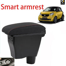 For Mercedes Benz Smart Fortwo Forfour Consoles Armrest Box with 3 USB