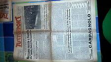 TUTTOSPORT- 5 GIUGNO 1951- GIRO D'ITALIA- BIK VAN STEENBERGEN - CICLISMO