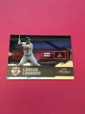 Albert Pujols Cardinals 2004 Playoff Prestige League Leaders #LL-2 20/100