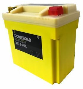 YLFP20L 12V Lithium Battery YTX14L YTX20L-BS