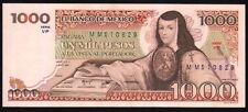 MEXICO 1000 Pesos 07/08/1984 (Juana de Asbaje), Series VP MM510829, Pick-80b UNC