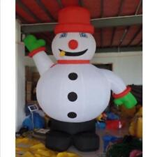 3 Meters Outdoor Christmas Inflatable Snowman for Christmas Decoration s
