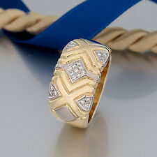"WEMPE RING ""21 Brillanten(Brillant/Diamant) ca.0,50ct""18K/750 Gelbgold-Weißgold"