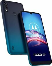 New Motorola Moto E6s - 32GB - Peacock Blue (Unlocked) (Dual SIM)