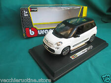 BBURAGO BURAGO serie PLUS 1/24 die cast metal model FIAT nuova 500 L multijet