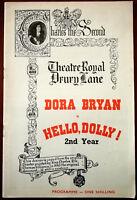Hello, Dolly with Dora Bryan, Theatre Royal Drury Lane Programme 1965