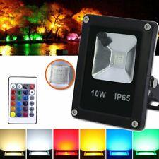 10W LED RGB Fluter Scheinwerfer Flutlicht Außenleuchten Gartenstrahler Dimmbar