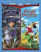 The Adventures of Ichabod and Mr. Toad / Fun and Fancy Free [New Blu-ray] With