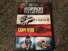 Triple Horror Collection! 3 Movies 3 Discs! Look In The Shop!