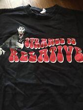 Johnny Depp Tim Burton's Dark Shadows Promo T-shirt Size M