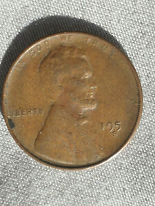 ERROR 195? s fine wheat back penny  ''SALE''