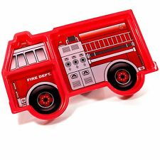 Kinder Esstablett Kinderteller Feuerwehrauto