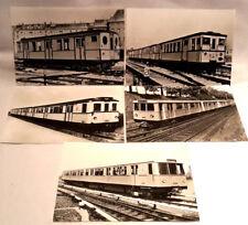 5 Ansichtskarten Berliner Verkehrsmittel U-Bahn ( Serie 4 ) BVG