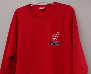 Cleveland Indians Baseball Embroidered Sweatshirt  S-5XL, LT-4XLT NEW
