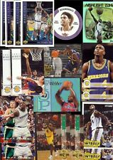 130) CHRIS WEBBER Hall Of Fame? Mixed Basketball Card LOT B w/ Rookies & Inserts