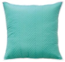 Bianca Vivid Coordinates Aqua Quilted European Pillowcase RRP $34.95